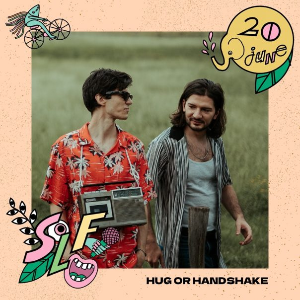 hug or handshake